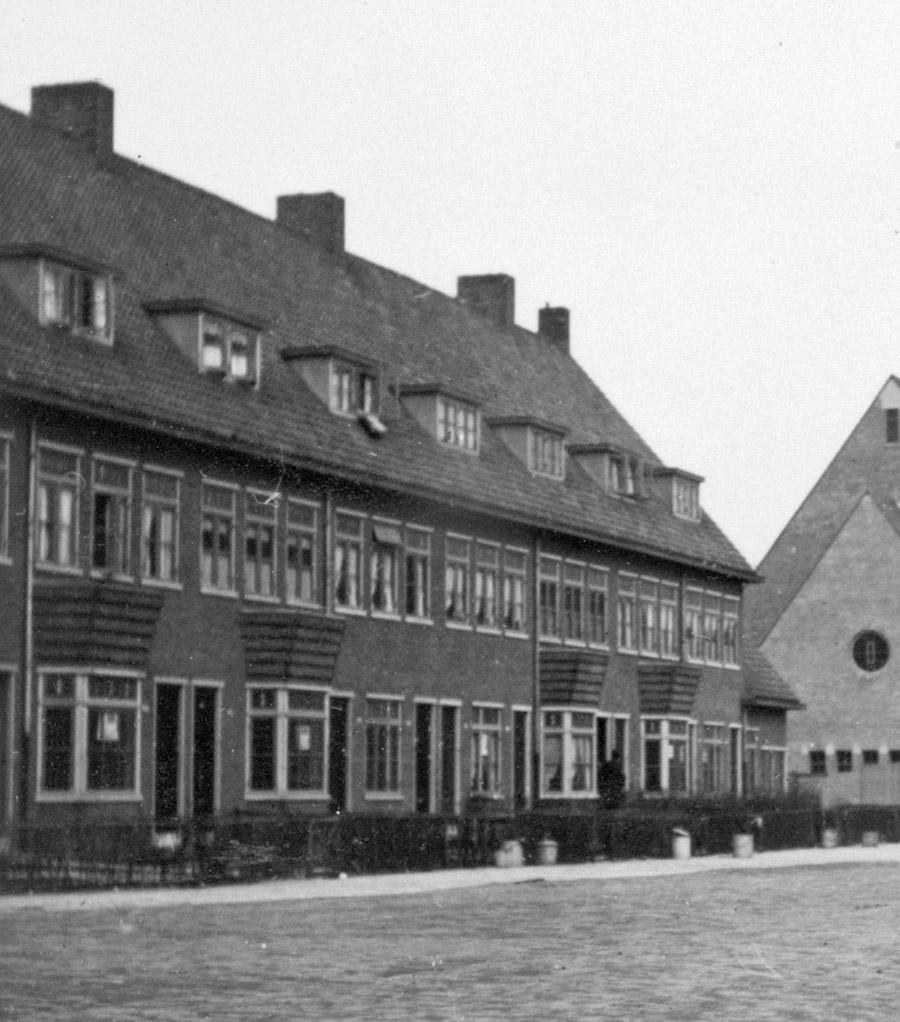 Huizen aan de Rozenlaan