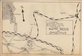 Plattegrond kamp Rees